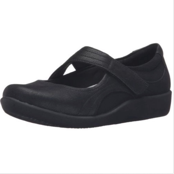 d96c0e4eed92cc Clarks Shoes - Clarks womens Mary Jane Black Cloud Steppers shoes